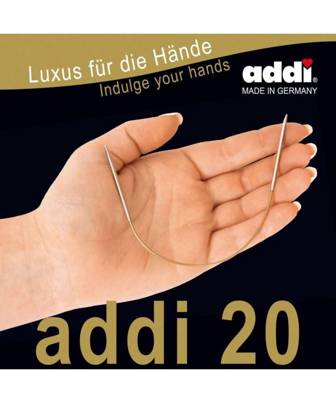 ADDI Ferri circolari fissi 20cm